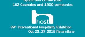 Parteciperemo ad HOST 2015 a Milano