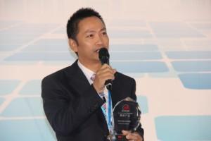 杭州诠世传动有限公司总经理寿炳炎发表获奖感言