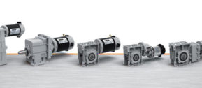 full range of DC geared motors
