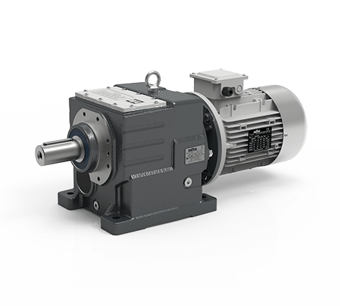 Helical in-line gearmotors ITH
