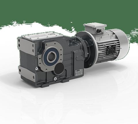 Helical bevel gearmotors ITB