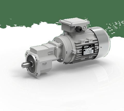 Motoriduttori ad ingranaggi cilindrici monostadio PU