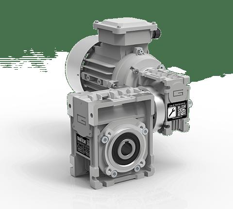CMM 蜗轮蜗杆组合式减速电机