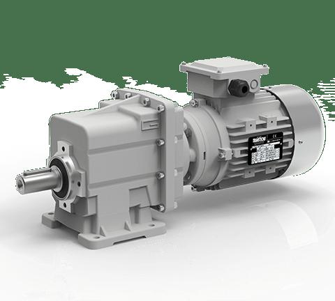 Helical in-line gearmotors CMG