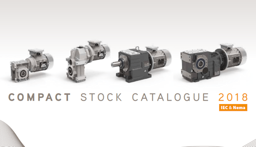 Compact Stock Catalogue of Gearmotors