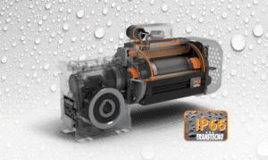AC electric motor IP66