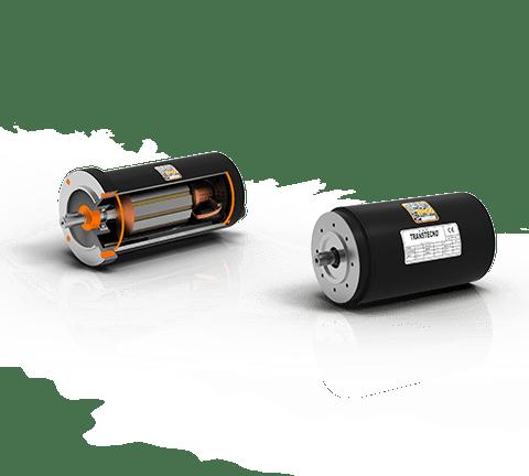 Motores de corriente continua con imanes permanentes de ferrita EC IP66