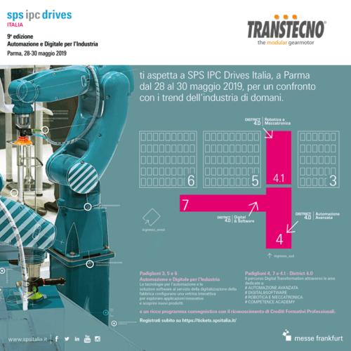 SPS Italia invito da Transtecno