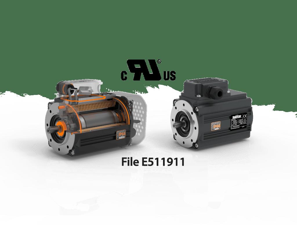 Motori elettrici CA IP66 serie SM – UL/CSA