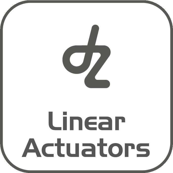 Gamma che include attuatori lineari